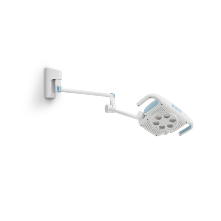 44900-W: Green Series 900 Procedure Light with Wall Mount