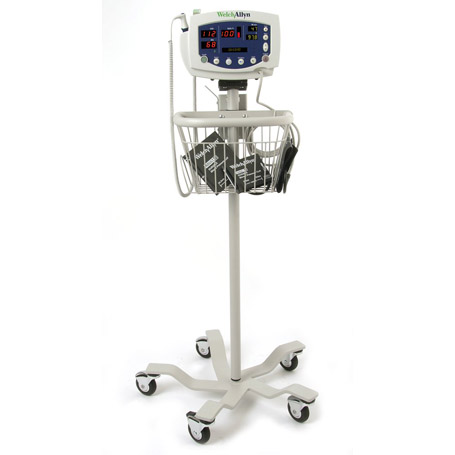 Vital Signs Monitor on Cart